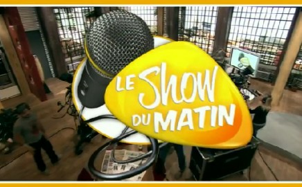 Le Show Du Matin features SpiderpodiumTablet