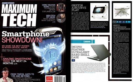 Maximum Tech covers 16 Rockin' iDevice Accessories including Breffo