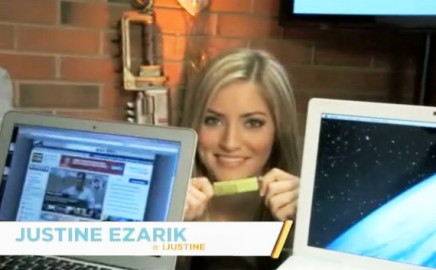 iJustine reviews iTwin on Spike TV
