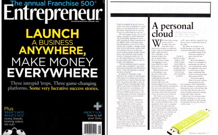 iTwin-Featured in Entrepreneur Magazine