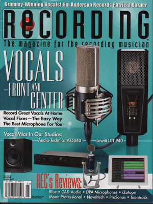 May-2013-Recording Magazine-MXL-CR89-Genesis-FET-Mike-Metlay-FC-Thumb