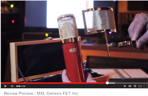 6_28_2014_ProAudio_Review_MXL_GenesisFET_ytvideo_Bob_Tavaglione